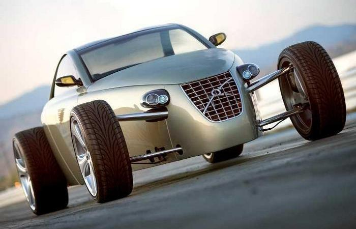 Шоу-кар Volvo T6 Roadster Concept.