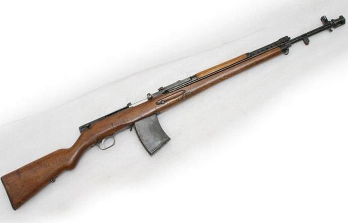 АВС-36 - первая советская автоматическая винтовка.