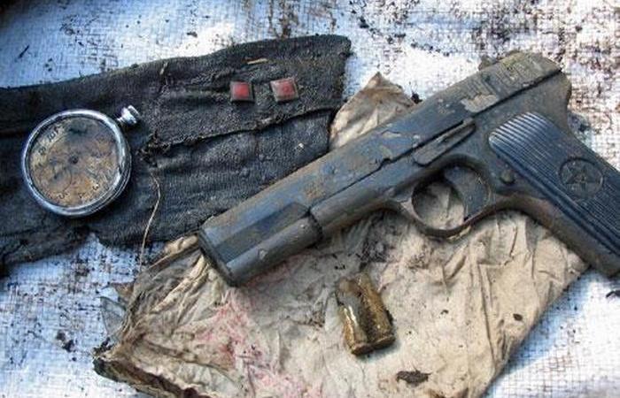 Легендарный ТТ и другое оружие солдат Красной армии.