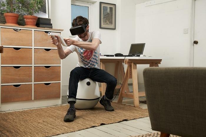 VRgo - кресло-качалка для фанатов компьютерных игр.