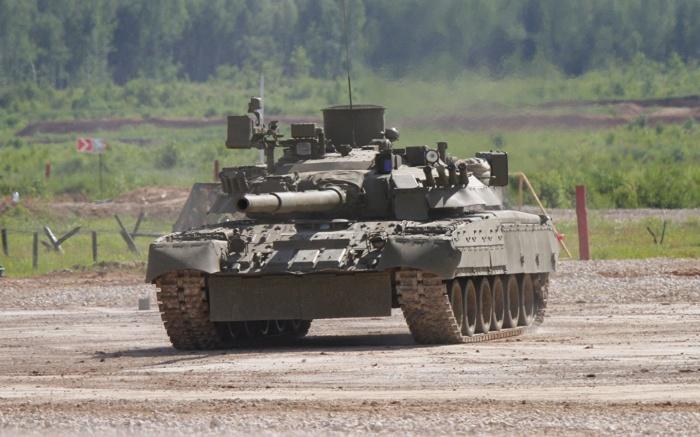 За основу был взят Т-80. ¦Фото: mybb.ru.