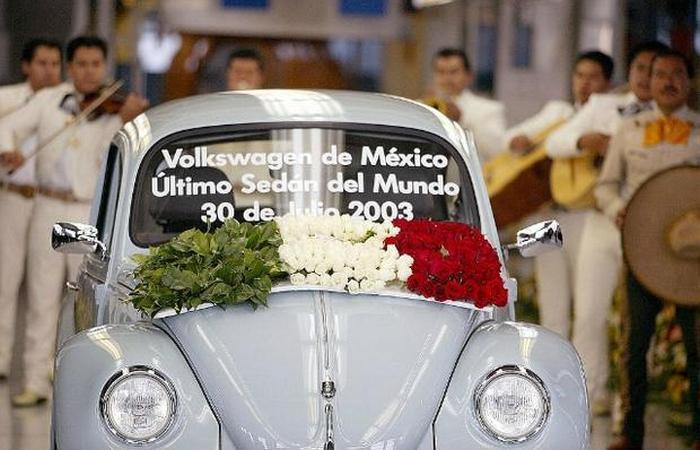 Последний Volkswagen Beetle.