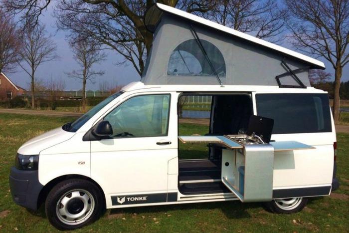 Семейный микроавтобус Tonke Van: всегда приятные путешествия.