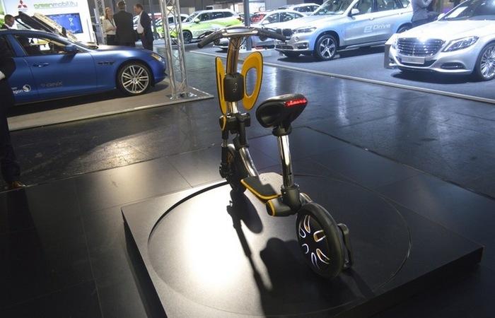 Мини скутер от израильских разработчиков.