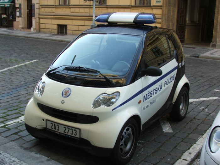 Smart Fortwo 2008 года выпуска.