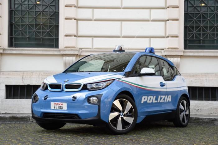 BMW i3 2014 года выпуска.