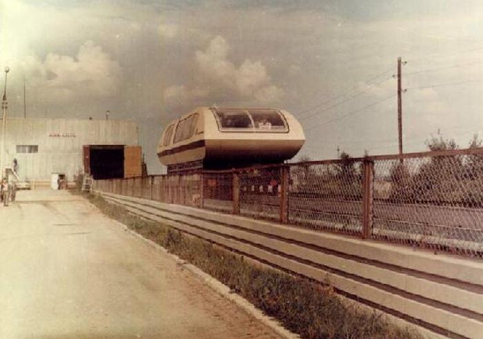 Вагон TA-05 - левитирующий поезд.