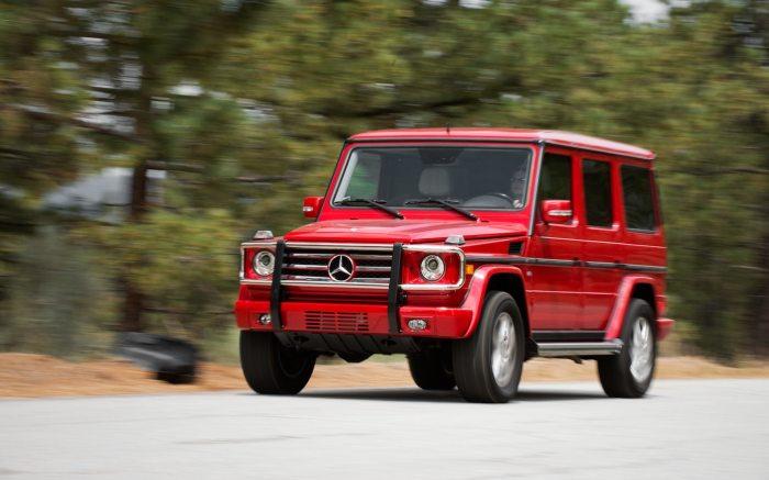 Одна из лучших машин Mercedes-Benz G550.