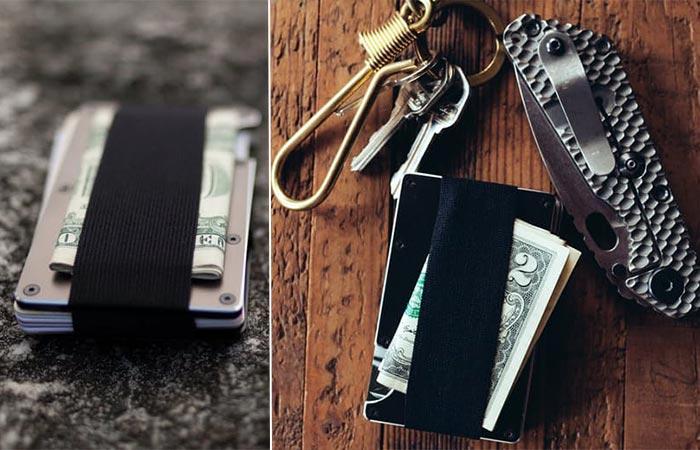 Мини-бумажник Ridge Wallet.