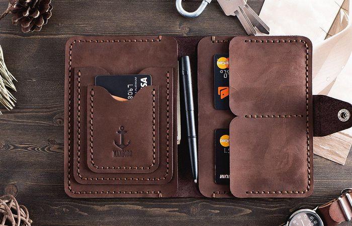 Мини-бумажник - просто и удобно.