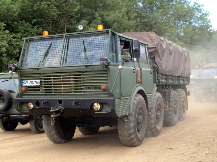 Грузовик Tatra 813.