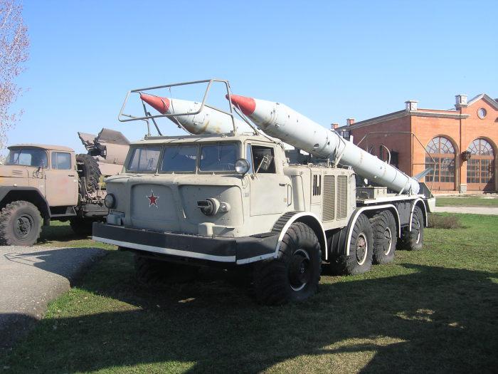 Транспортер 9T29 Луна-М.