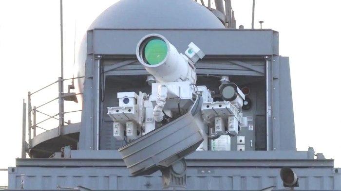Лазерная пушка LaWS.