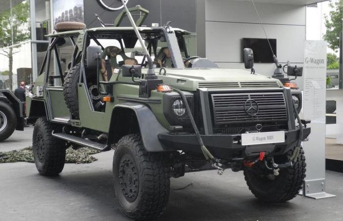 Был представлен инновационный военный Гелик.