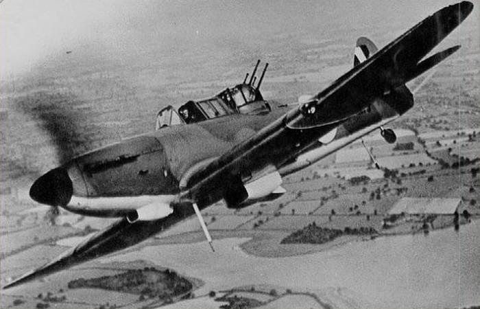 Boulton Paul Defiant.