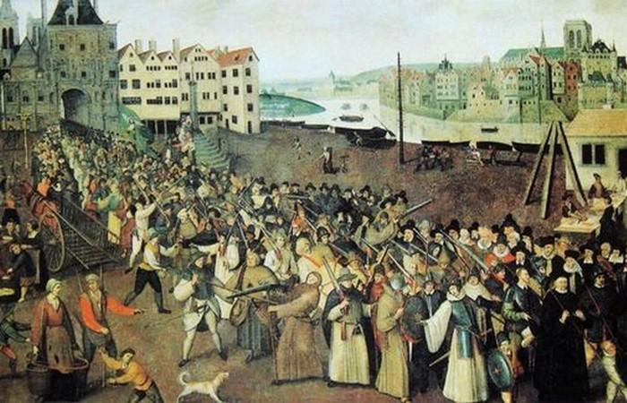 Религиозные войны во Франции - 1562 и 1598 г.