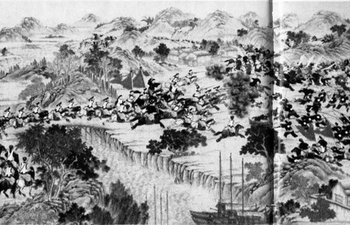 Дунганское восстание - 19 век.