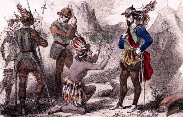 Завоевание Северной и Южной Америки  - 1492 и 1691 г.