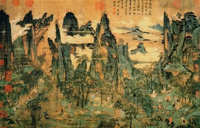 Восстание Ань Лушаня - 755 до 763 год.