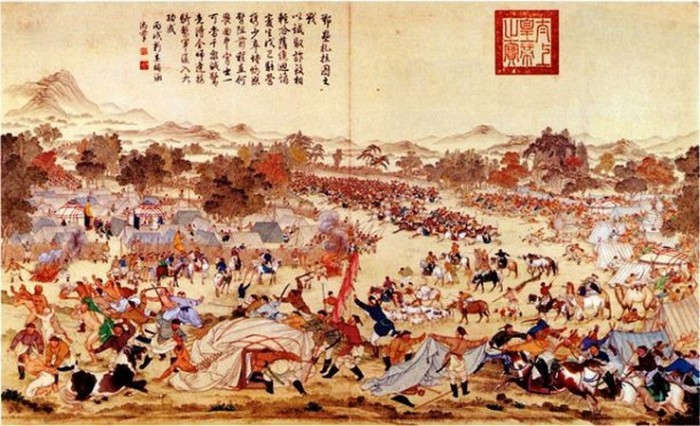 Завоевание династией Цин династии Мин - Манчжурское завоевание.