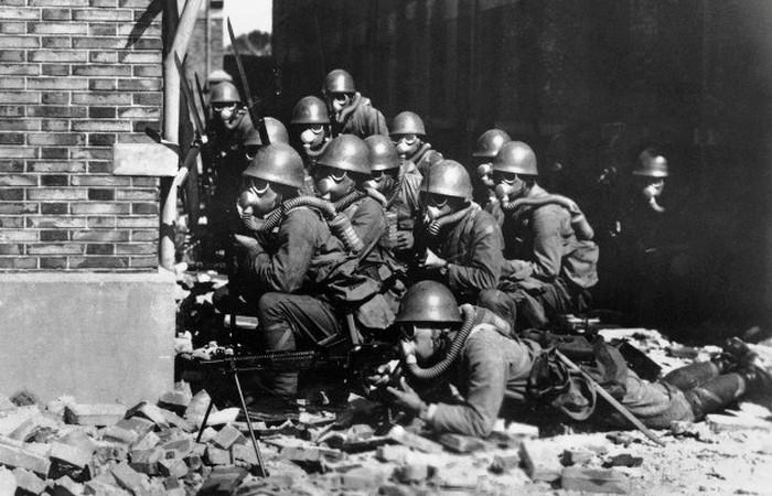 Вторая китайско-японская война - 1937-1945 г.