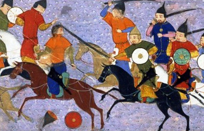 Монгольские завоевания - 13 век.