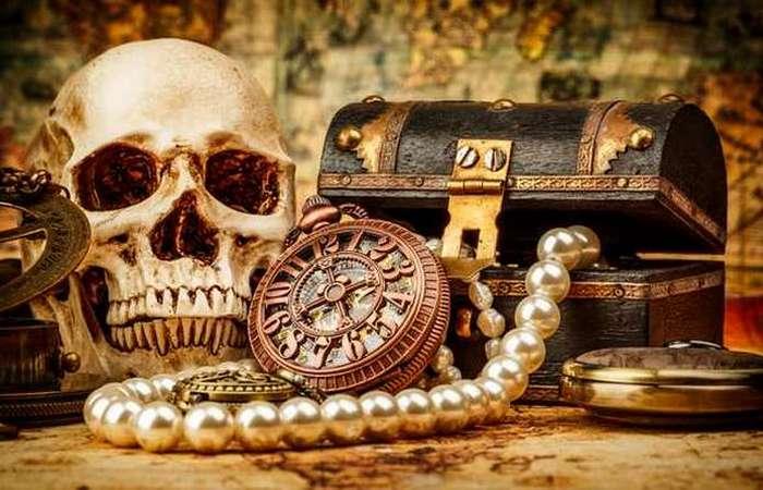 Остановившееся время: карманные часы пирата.