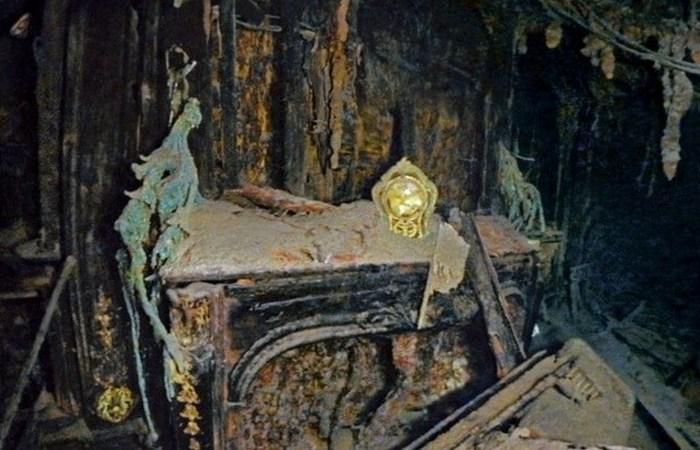 Остановившееся время: каминные часы «Титаника».