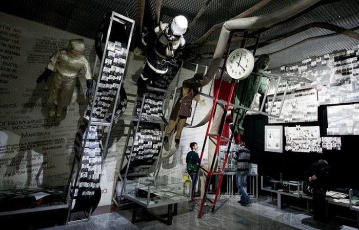 Остановившееся время: чернобыльские часы.