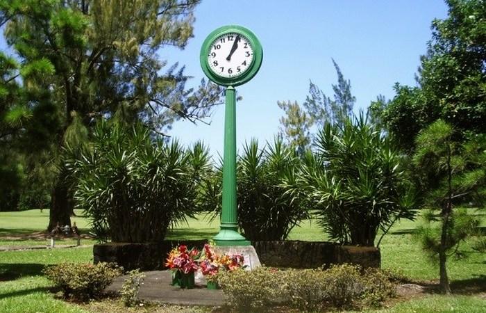 Остановившееся время: часы Цунами.