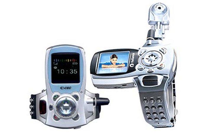 Часы с камерой и телефоном.