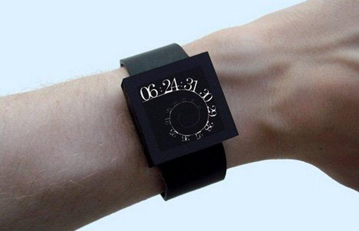 Часы OLED Linux.
