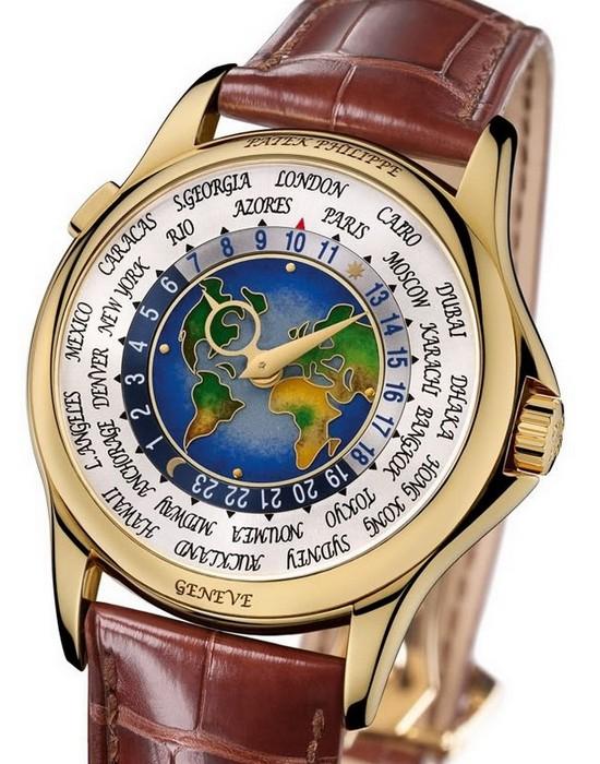 Patek Philippe, 1939 Platinum World Time.
