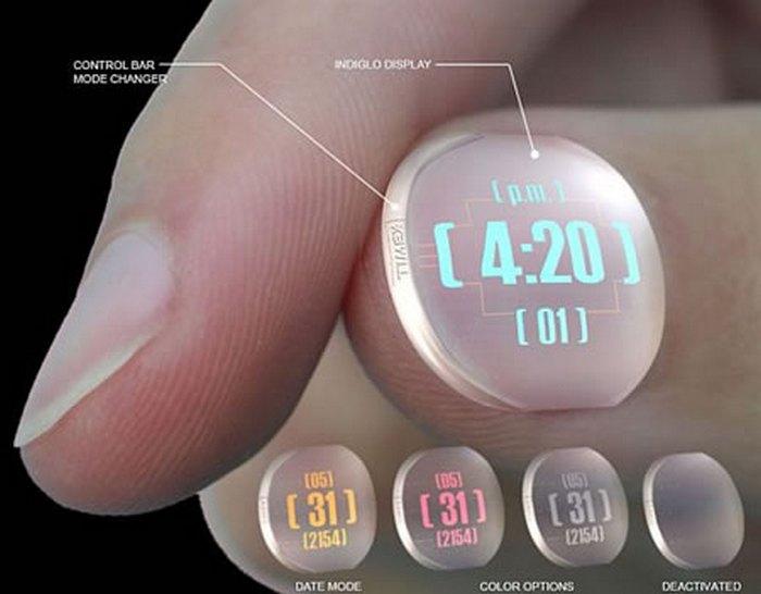 Часы Timex Thumbnail Watch.