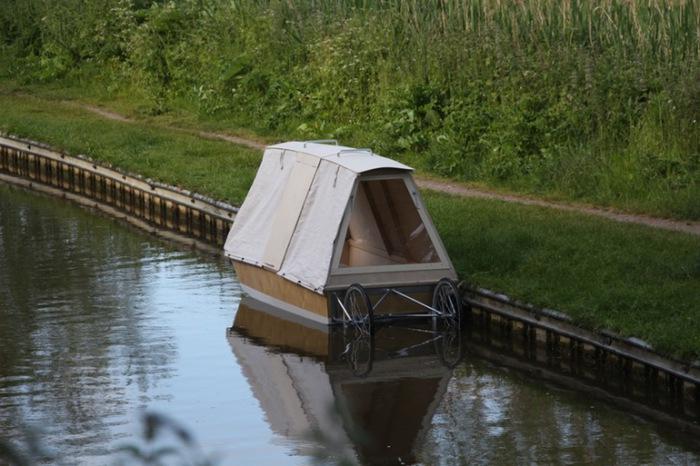Паром-кабинка Waterbed .