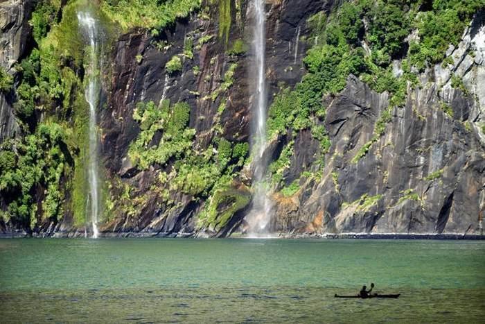 Водопад Браун.