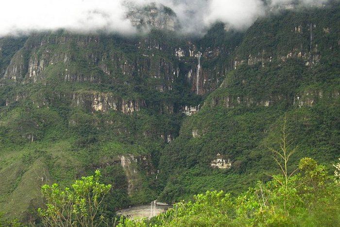 Водопад Катарата Юмбилья.