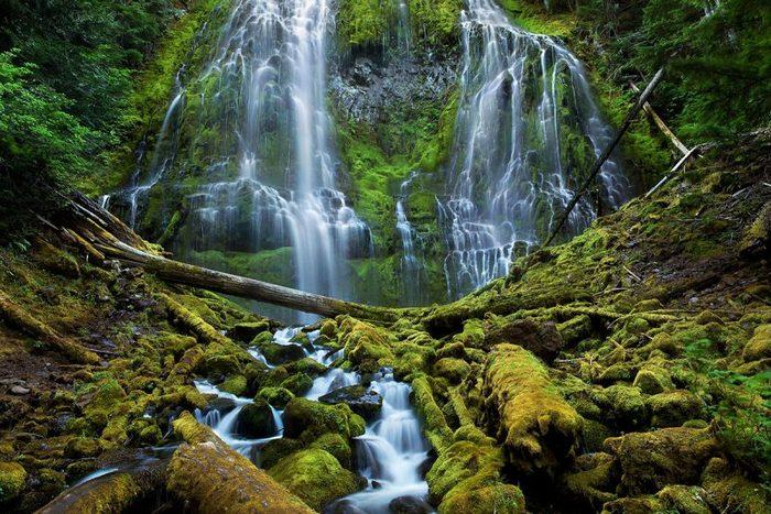 Водопад Олоупена.