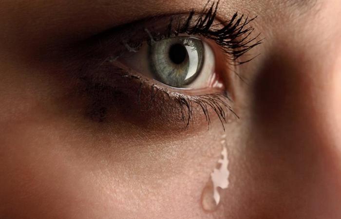 Слезы - это уменьшение беспокойства.