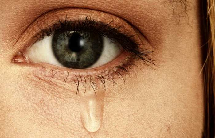 Слезы - это верный признак здоровья.