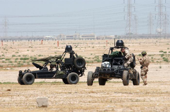 Высокоскоростной багги Desert Patrol Vehicle.