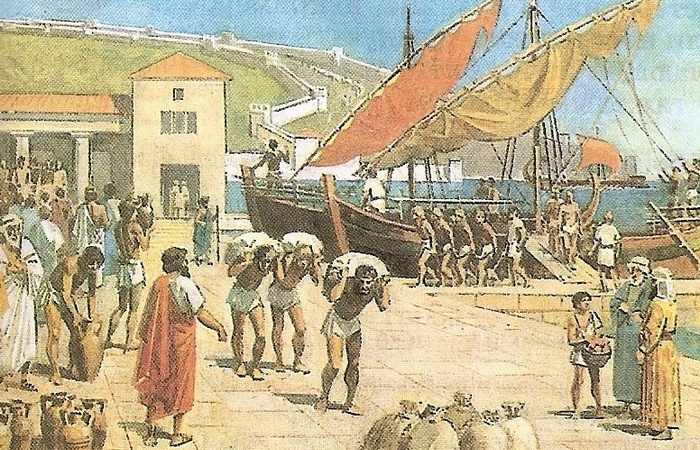 В Древней Греции не делили людей по цвету кожи или расовой принадлежности.
