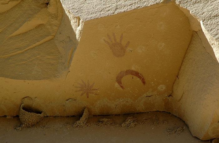 Астрономические события, которые были нарисованы на камне.