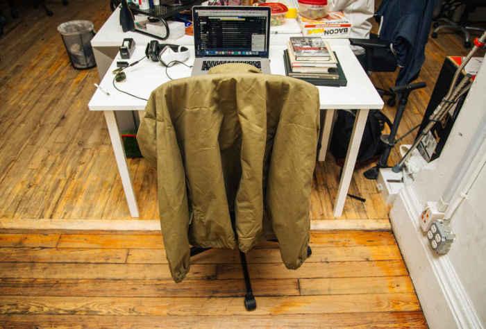 Офисная куртка.