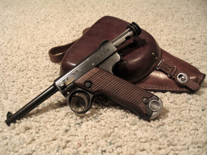 Очень ненадежный пистолет. | Фото: guns.allzip.org.