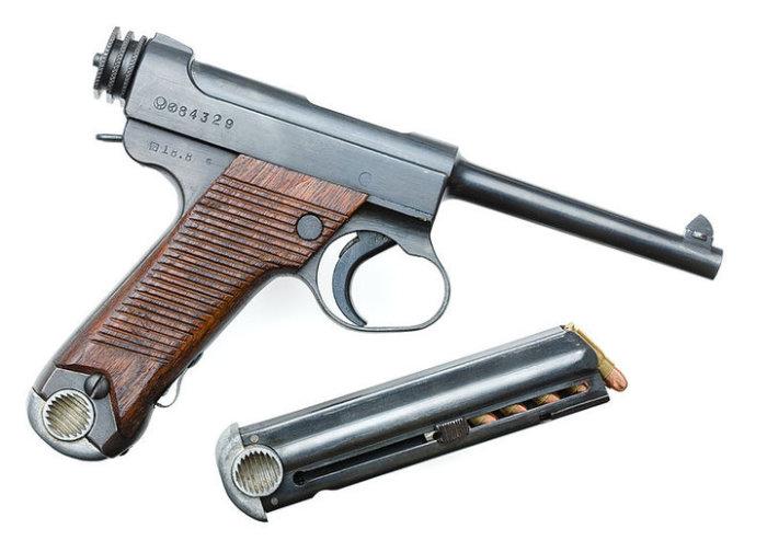 Японский пистолет получился так себе.