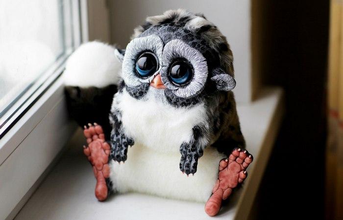 Сова Furby - настоящий раритет.