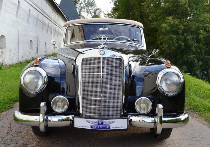 Mercedes 300b W186 - настоящий раритет.