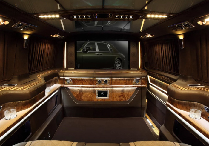 Офис на колесах - Mercedes V-class.