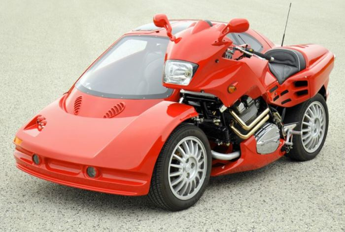 Миленький и маленький мотоцикл Snaefell.